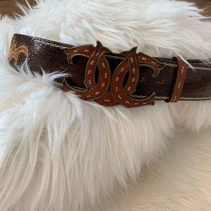 Beckon Leather Belt